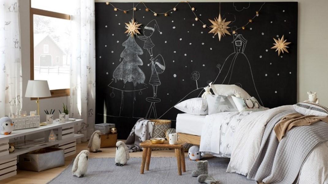 ideas decoracion navidad infantil habitacion