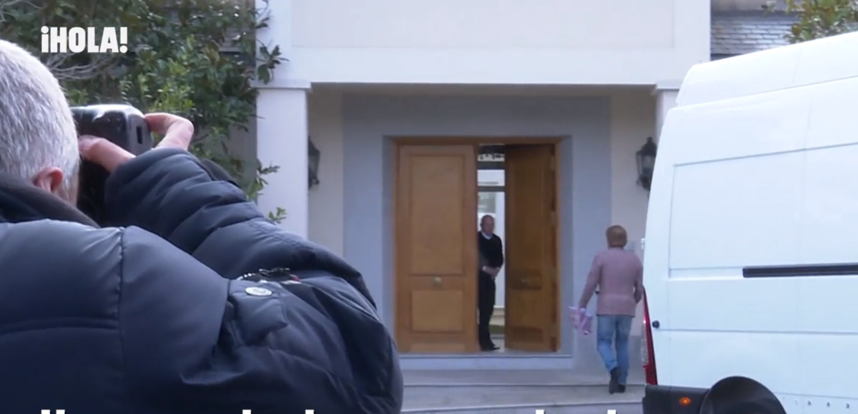 edmundo en la puerta