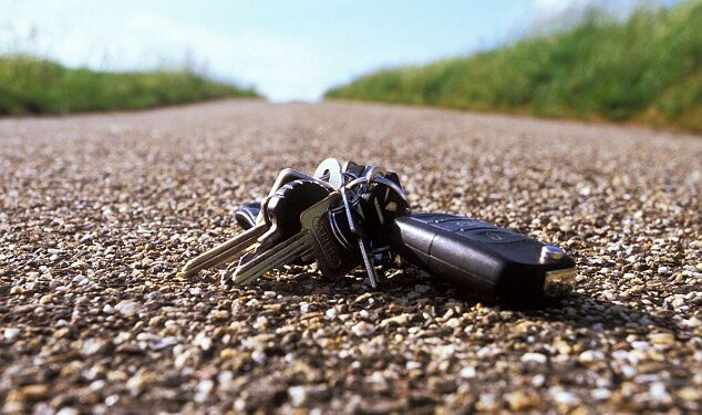 llaves de coche perdidas