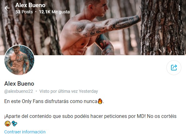 alex bueno only fans