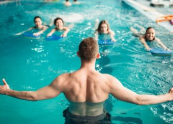aquagym ejercicios verano