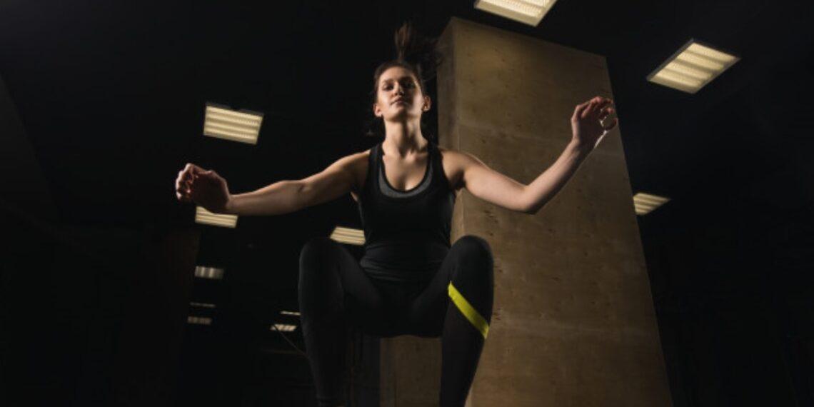 box jump ejercicio de piernas
