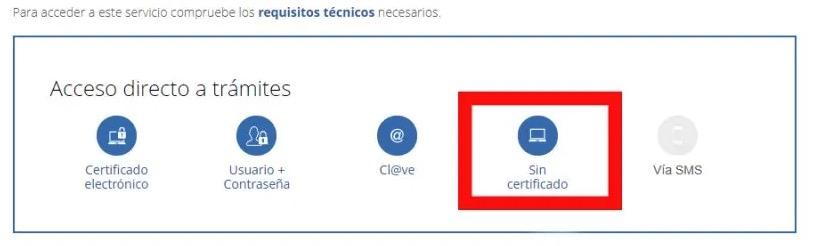 formatos para solicitar informe de vida laboral: con certificado electronico, con usuario, con clave, sin certificado o vía SMS