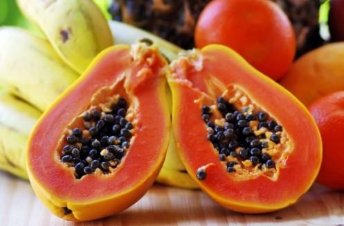 papaya fruta tropical