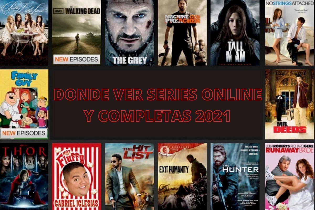 donde ver series online y completas 2021